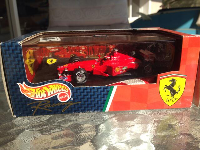 Ferrari 1/43 Eddie Irvine