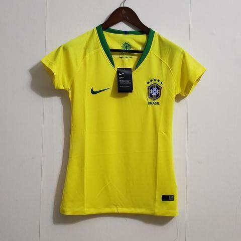 Camisa Brasil Feminina 18/19 - Torcedor
