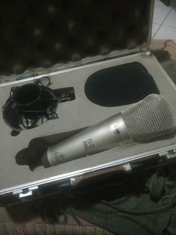 Microfone profissional studio