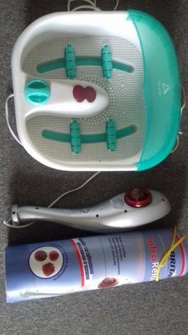 Kit massageadores de pés e corpo