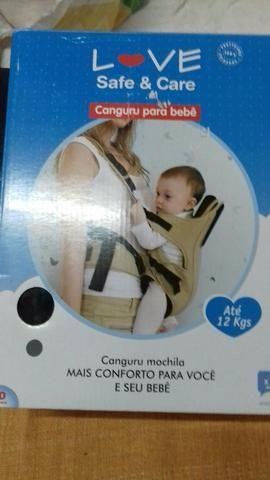 Vendo um canguru para bebês todo novo