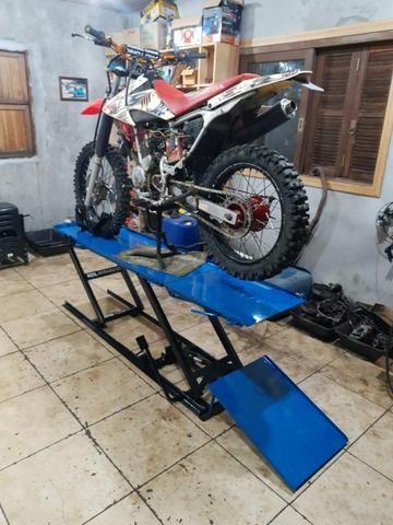 Elevador para motos 350 kg - Fabrica 24h zap - Foto 12