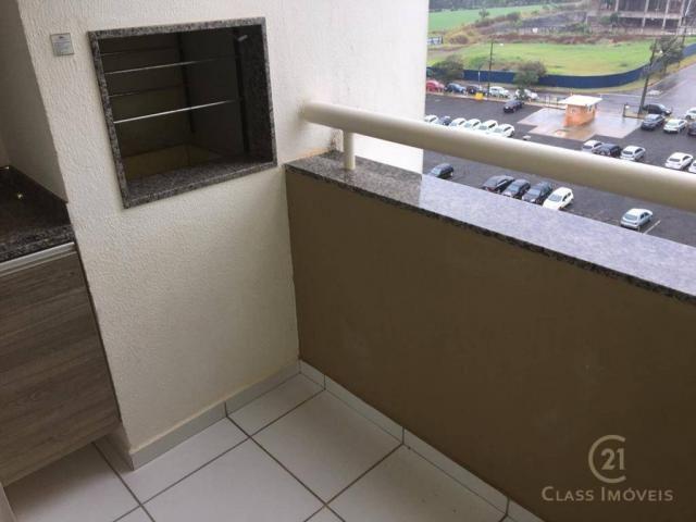 Apartamento com 3 dormitórios à venda, 69 m² por r$ 315.000 - gleba palhano - londrina/pr - Foto 7