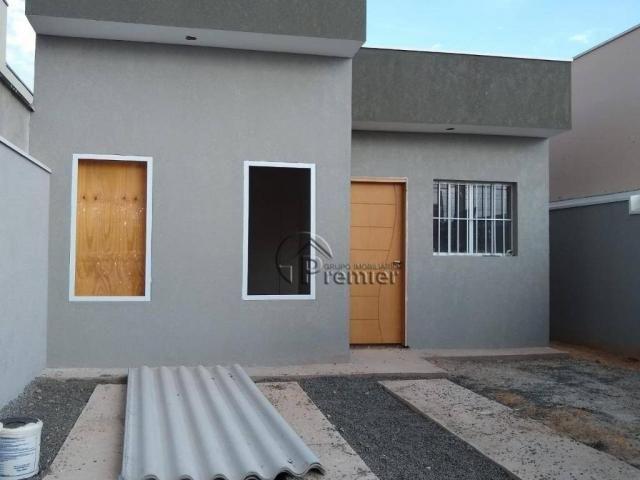Casa com 2 dormitórios à venda, 54 m² por r$ 250.000 - nova veneza - indaiatuba/sp