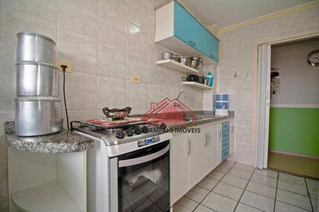 Apartamento com 3 dormitórios à venda, 69 m² por r$ 270.000,00 - santa quitéria - curitiba - Foto 15