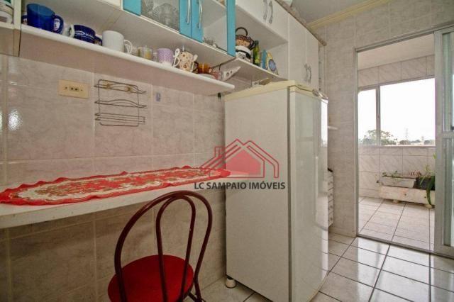 Apartamento com 3 dormitórios à venda, 69 m² por r$ 270.000,00 - santa quitéria - curitiba - Foto 12