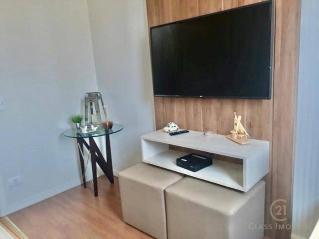Apartamento com 3 dormitórios à venda, 80 m² - gleba palhano - londrina/pr - Foto 2