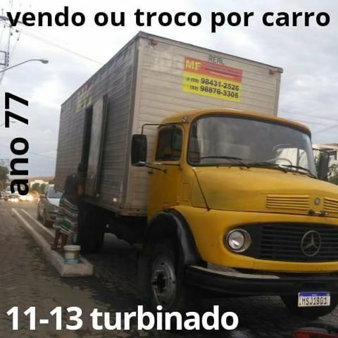 Vendo ou troco por carro esse caminhão 11-13 turbinado