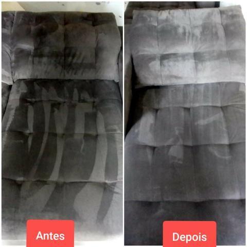 Limpeza e higienização de estofado - Foto 3