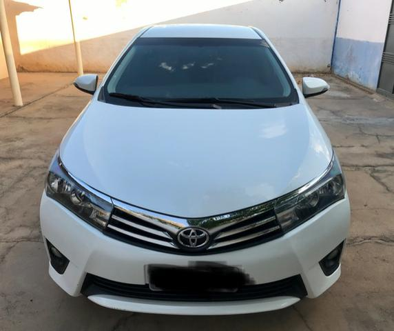 Corolla XEI 2015 branco perolizado. Carro extra com 65 mil km! - Foto 6
