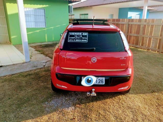Fiat Punto com Teto 14/15 - Foto 4