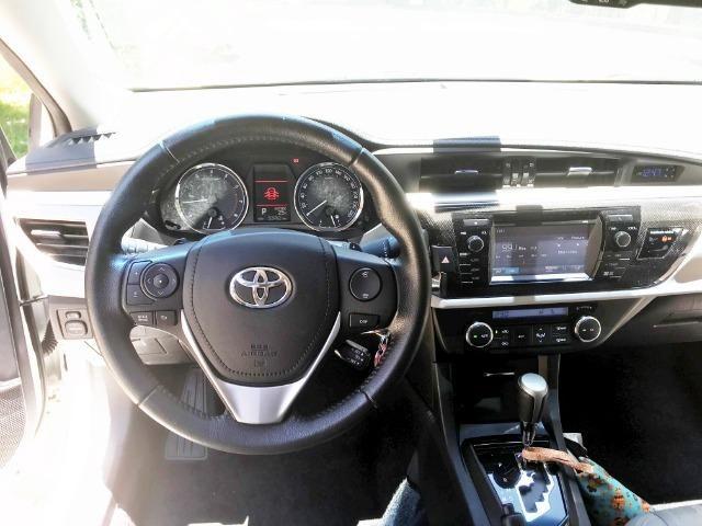 Toyota Corolla 2.0 XEI 16V Flex 4P automatico 2015 - Foto 6