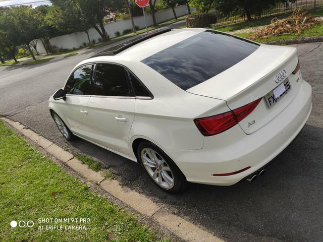 "Audi A3 Sedan 2015 1.8 Ambition 1.8 TFSI 180cv Teto solar ""raridade"" - Foto 3"