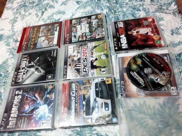 Lote de jogos Ps3 originais