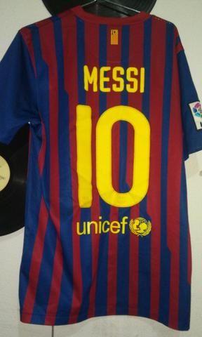 c88e748362 Camisa messi barcelona   futebol - Roupas e calçados - Parque Maria ...