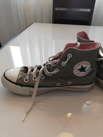 All Star original cinza com rosa - tamanho 35 - Roupas e calçados ... 21563a3f6414e