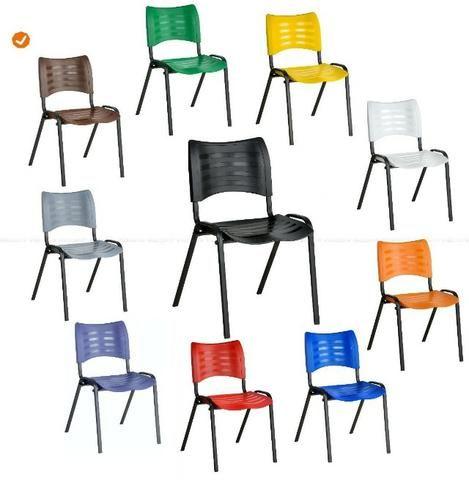 Cadeiras ISO empilháveis novas !!!!!!