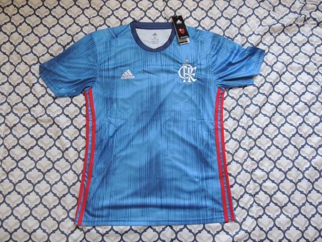 Camisa Flamengo Visitante Azul 18 19 - Roupas e calçados - Jundiaí ... ace7db35ea2ee