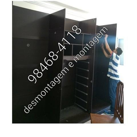 Montador de móveis e desmontagem