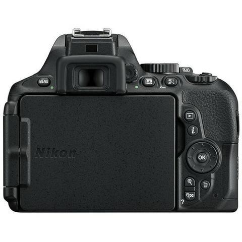 Câmera Digital Nikon D5600 Kit 18-140 VR 24.2MP gps/Bluetooth/NFC/Wi-Fi - Preto - Foto 4
