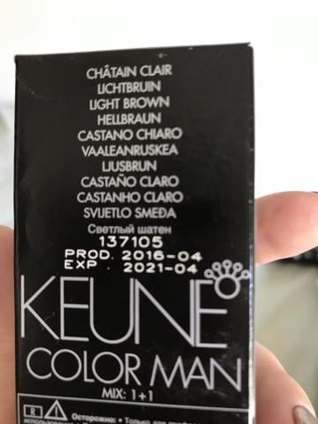 Tintura de cabelo keune