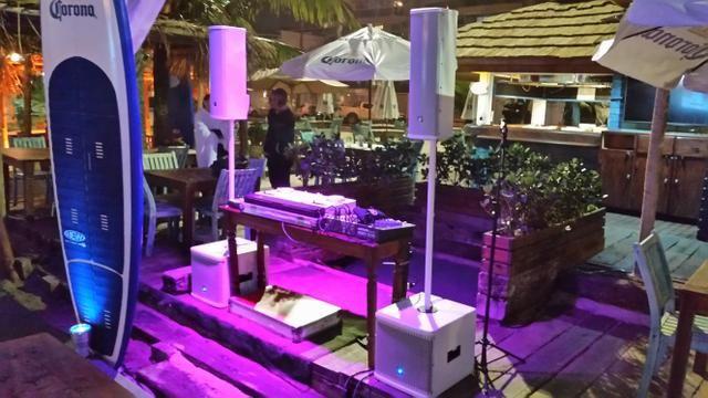 Dj, som e iluminação para eventos em geral