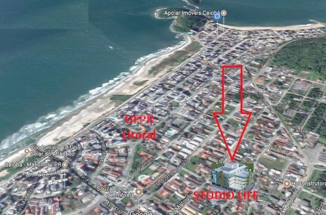 Apartamento à venda com 1 dormitórios em Caioba, Matinhos cod:144662