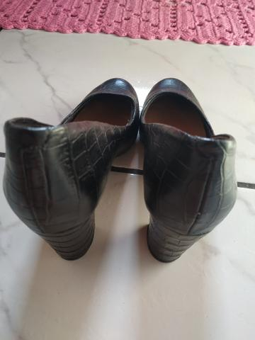 00b2fb848 Sapato Feminino Salto Grosso Vizzano 38 - Roupas e calçados - Jardim ...