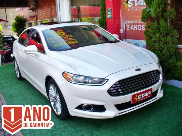 Ford Fusion Titanium FWD GTDI 2016 único dono Starveiculos