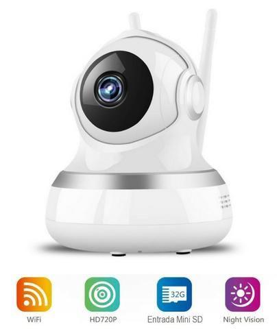 Câmera para Monitoramento Casas Lojas Estacionametos IP 2 Antenas Ydtech - SKU: 82021 - Foto 4