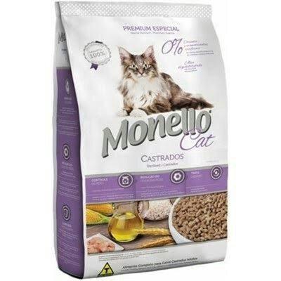 Ração Monello Cat Castrados 10,1kg