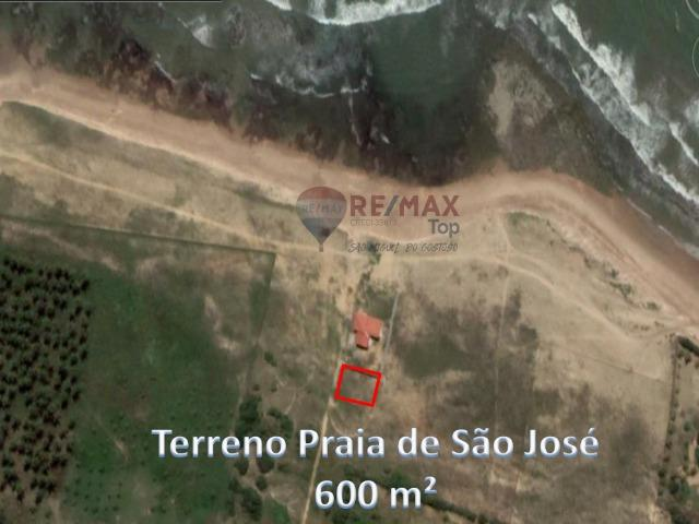 Terreno na Praia de São José - 600 m² - Foto 2