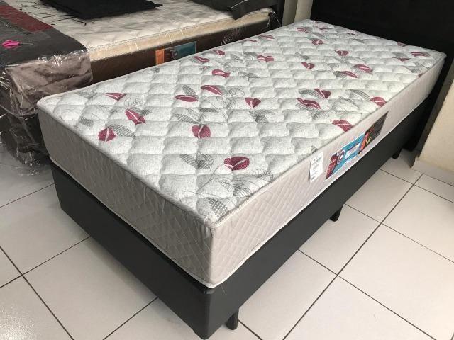 Cama Box Solteiro Castor em Espuma D-40 - Top de Linha! - Foto 5