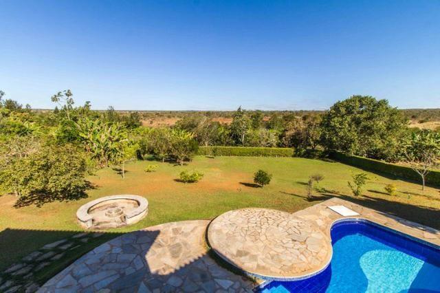 Bela Casa SMPW 17 com acesso a área verde e vista livre pra reserva - Foto 12