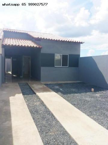 Casa para Venda em Várzea Grande, Novo Mundo, 2 dormitórios, 1 suíte, 1 banheiro, 2 vagas - Foto 4