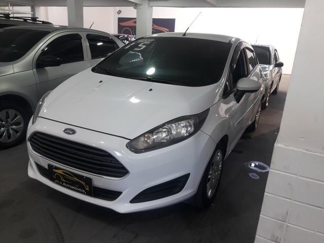 Ford New Fiesta 1.5 Hatch L S Flex 4P Manual c/ GNV (+ pequena entrada)