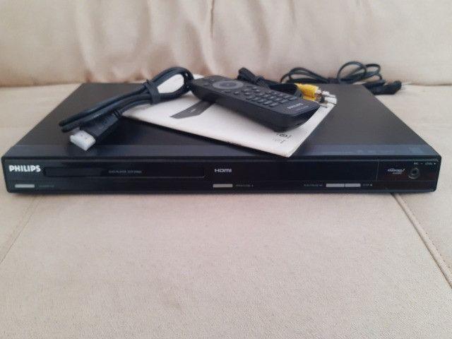 Dvd Philips Dvp3980kx/78 com Karaokê (Tudo funcionando)