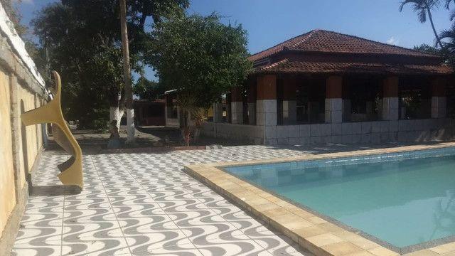 Aluguel salão de festas Sítio Pinheiro 600,00 atrás Motel Chanceller Laranjal - Foto 8