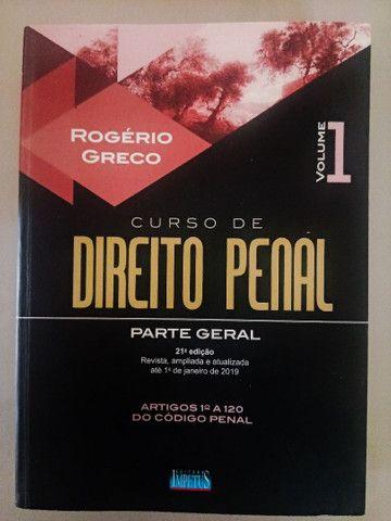 03 volumes do Curso de Direito Penal - Rogério Greco - Foto 2
