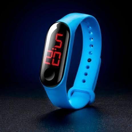 Relógio pulseira digital led (entrego ) - Foto 3