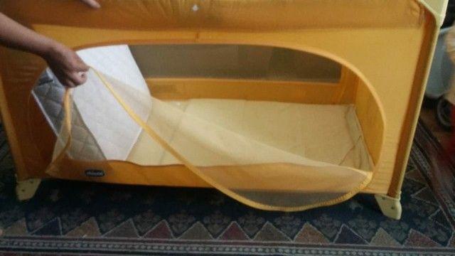Berço Portátil Easy Sleep Amarelo Chicco - Foto 3