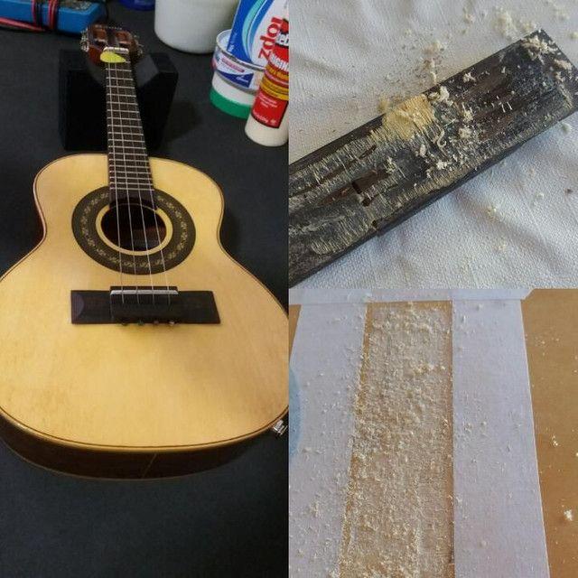 Luthieria aeroporto/ manutenção em instrumentos musicais de cordas em geral  - Foto 4
