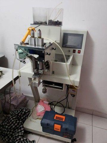Maquina industrial  para fixar Perola ..  - Foto 3