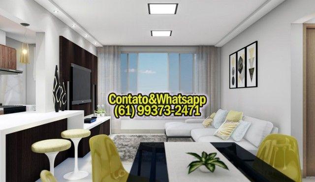 Apartamento em Goiania, 2Q (1Suíte), 55m2, Garagem, Lazer Completo! Parcela. - Foto 2