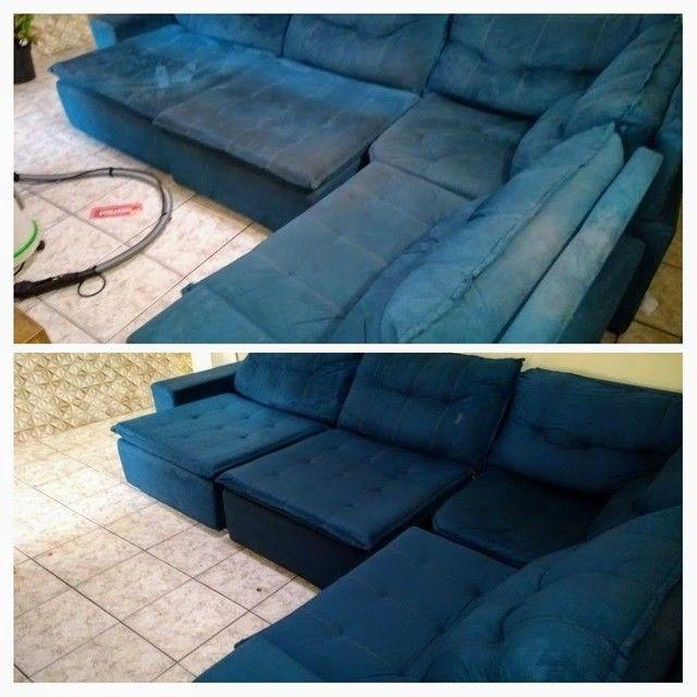 Sofá com MAL CHEIRO ??? Limpeza de sofá !!! - Foto 4