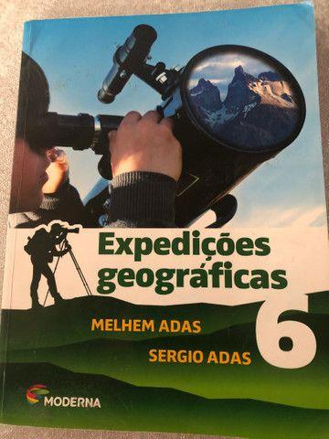 Livro didático 6 ano - expedições geográficas