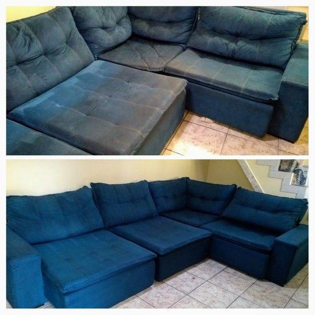Sofá com MAL CHEIRO ??? Limpeza de sofá !!! - Foto 6