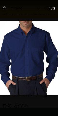 7 Camisas social Mangas curtas e longas - Foto 5