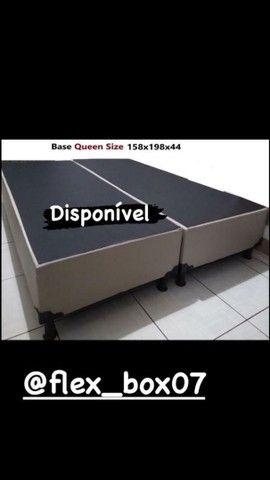 Base pra colchao queen 158x198 apronta entrega cama box pra colchao