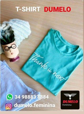 T-shirt Dumelo reposição  - Foto 3